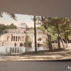 Postales: ANTIGUA POSTAL DE MADRID - PARQUE DEL RETIRO, PALACIO DE CRISTAL. Lote 75158783