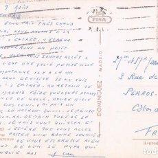 Cartes Postales: POSTAL MADRID. PLAZA DE TOROS DE LAS VENTAS. 62. DOMINGUEZ. FISA. CIRCULADA. Lote 142697605