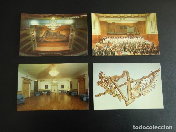 LOTE DE 10 POSTALES DEL TEATRO REAL DE MADRID, 1976 (Postales - España - Madrid Moderna (desde 1940))