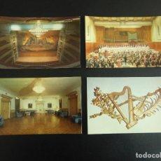 Postales: LOTE DE 10 POSTALES DEL TEATRO REAL DE MADRID, 1976. Lote 76790311