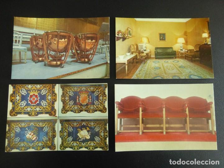 Postales: LOTE DE 10 POSTALES DEL TEATRO REAL DE MADRID, 1976 - Foto 3 - 76790311