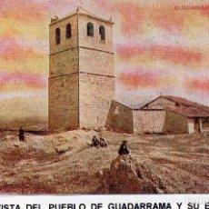 Postales: PUEBLO DE GALAPAGAR, MADRID.- VISTA DEL PUEBLO DE GALAPAGAR Y SU ERMITA.JMOLINA1946. Lote 76970741