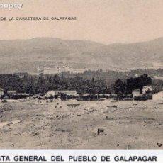 Postales: PUEBLO DE GALAPAGAR, MADRID.- VISTA DESDE LA CARRETERA DE GALAPAGAR.JMOLINA1946. Lote 77225529