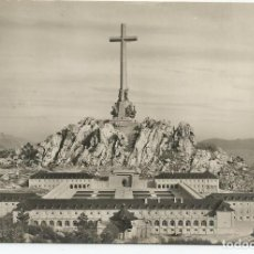 Postales: POSTAL CUELGAMUROS - MONUMENTO VALLE DE LOS CAIDOS - LA CRUZ, EL CONVENTO Y SEMINARIO. Lote 77406469
