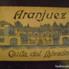 Postales: ARANJUEZ. CASITA DEL LABRADOR - 12 POSTALES. Lote 78923241