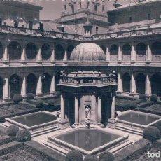 Postales: POSTAL EL ESCORIAL - MONASTERIO - PATIO DE LOS EVANGELISTAS - JARDINES 16 - GARRABELLA. Lote 79784033