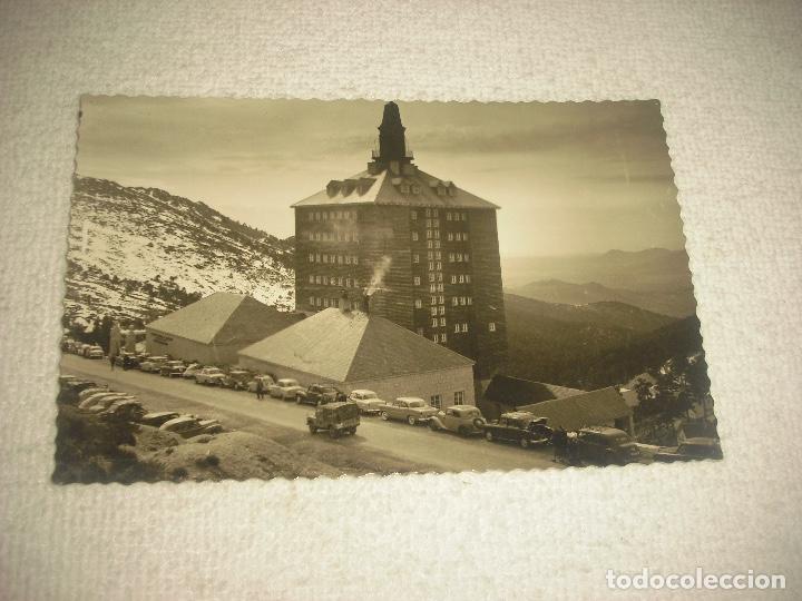 PUERTO NAVACERRADA 15 . ALBERGUE EDUCACIÓN Y DESCANSO . ED DARVI . CIRCULADA (Postales - España - Comunidad de Madrid Antigua (hasta 1939))
