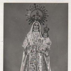 Postales: FOTOGRAFIA TAMAÑO POSTAL SIN REVERSO. LA VIRGEN DE BUTARQUE LEGANES. MADRID. PALOMEQUE.. Lote 80070937