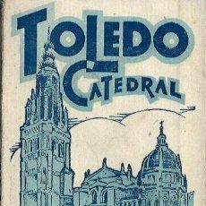 Postales: BLOC. DE 20 POSTALES DE LA CATEDRAL DE TOLEDO - NUEVAS LE FALTA LA TAPA TRASERA. Lote 80418057