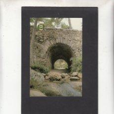 Cartoline: 17.- CERCEDILLA. PUENTE ROMANO EL DESCALZO. Lote 80912460