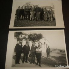 Postales: VILLAVICIOSA DE ODON MADRID FINCA SACEDON CACERIA 1933 9 POSTALES Y FOTOGRAFIAS. Lote 81041936