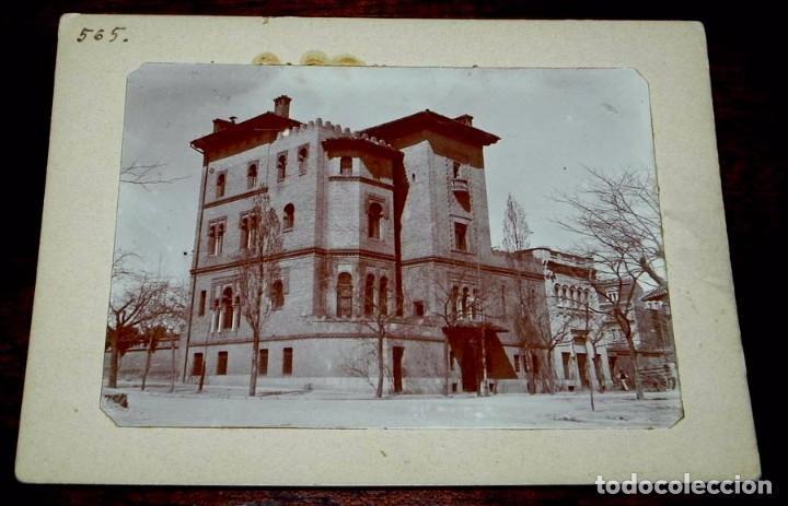 FOTOGRAFIA ALBUMINA DE MADRID, LA CASA PALACIO DE DON GUILLERMO DE OSMA EN LA CALLE FORTUNY 43, ESC (Postales - España - Comunidad de Madrid Antigua (hasta 1939))