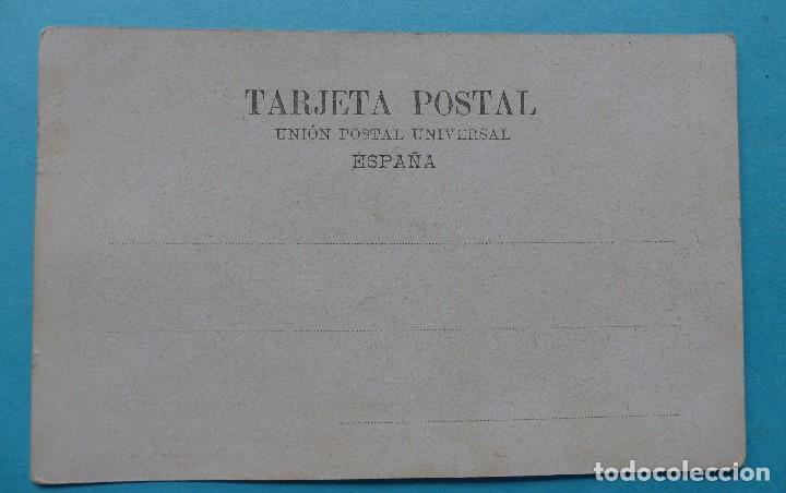 Postales: MADRID - POSTAL ANTIGUA BANCO DE ESPAÑA LA CIBELES Y CALLE DE ALCALA - ED. A. PEREZ - SIN CIRCULAR - Foto 2 - 81666892