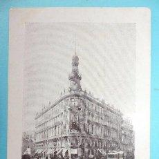 Postales: MADRID - POSTAL ANTIGUA - PALACIO DE LA EQUITATIVA - ED. A. PEREZ - SIN CIRCULAR. Lote 81667196