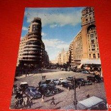 Postales: POSTAL MADRID. PLAZA DEL CALLAO-AVENIDA JOSÉ ANTONIO. SERIE 2. NÚM 4013. Lote 82074616