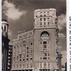 Postales: MADRID.- CINE CALLAO, PLAZA DE CALLAO, F. MOLINA, SIN CIRCULAR.JMOLINA1946. Lote 82866040