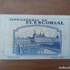 Postales: EL ESCORIAL .- BLOC POSTAL .- 20 VISTAS .- 2ª SERIE TOMAS MORA .- HAE . Lote 83001912
