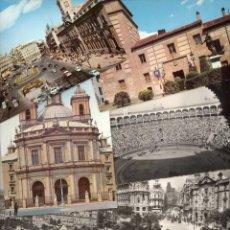 Postales: ANTIGUAS POSTALES MADRID CALLE ALCALA,AVENIDA JOSE ANTONI, PLAZA TOROS, PUERTA SOL... AÑOS 60. Lote 83043664