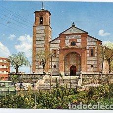 Postales: MADRID PINTO IGLESIA PARROQUIAL DE SANTO DOMINGO DE SILOS. ED. VISTABELLA 2. ESCRITA. Lote 83145872