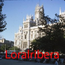 Postales: DIAPOSITIVA ESPAÑA MADRID PALACIO COMUNICACIONES 1966 KODACHROME 35MM SLIDE SPAIN PHOTO FOTO CIBELES. Lote 83617212