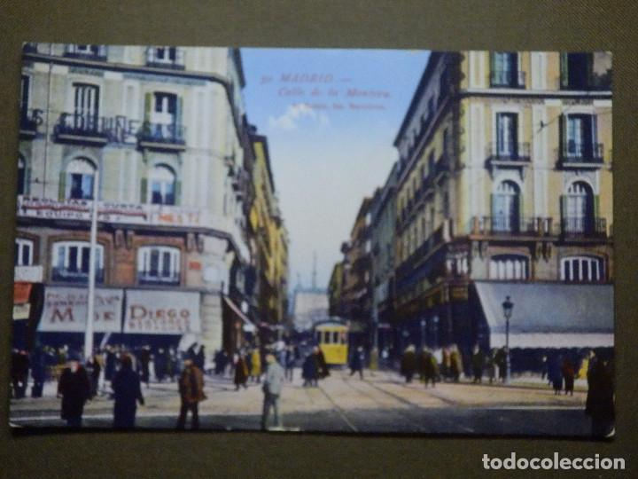 POSTAL - ESPAÑA - Madrid - 50.- Calle de la Montera - L. Roisin - NE - NC 4d5db0d7918