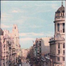 Postales: POSTAL MADRID 8 - AVENIDA JOSE ANTONIO - VISTA PARCIAL - FOTO TORREMOCHA. Lote 85435772