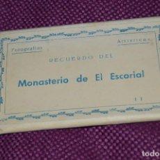 Postales: ESTUCHE 15 POSTALES EN COLOR SIN CIRCULAR - RECUERDO DEL MONASTERIO DE EL ESCORIAL - ¡HAZ OFERTA!. Lote 85444072