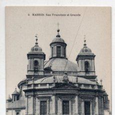 Postales: MADRID. SAN FRANCISCO EL GRANDE.. Lote 86161812