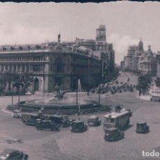 Cartes Postales: POSTAL MADRID 132 - PLAZA DE LA CIBELES - DOMINGUEZ - CIRCULADA. Lote 86207236