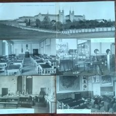 Postales: LOTE DE 16 POSTALES DEL COLEGIO DE CHAMARTIN PRIMERA SERIE. Lote 86509524