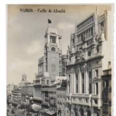 Cartes Postales: P- 6846. POSTAL MADRID, CALLE DE ALCALA. G.H.ALZINA, MADRID.. Lote 87126120