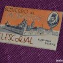 Postales: MUY ANTIGUO - LIBRO 12 POSTALES SIN CIRCULAR - RECUERDO DEL MONASTERIO ESCORIAL - HAZME OFERTA. Lote 87417844