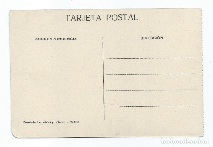 Postales: POSTAL. ALCALÁ DE HENARES. ARCO DE SAN BERNARDO Y AVENIDA DEL PARQUE. EDICIÓN SATURIO RAMÍREZ. - Foto 2 - 87628944