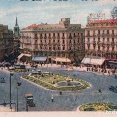 Postales: POSTAL MADRID 1 - PUERTA DEL SOL - H A E - COLOR. Lote 88288304