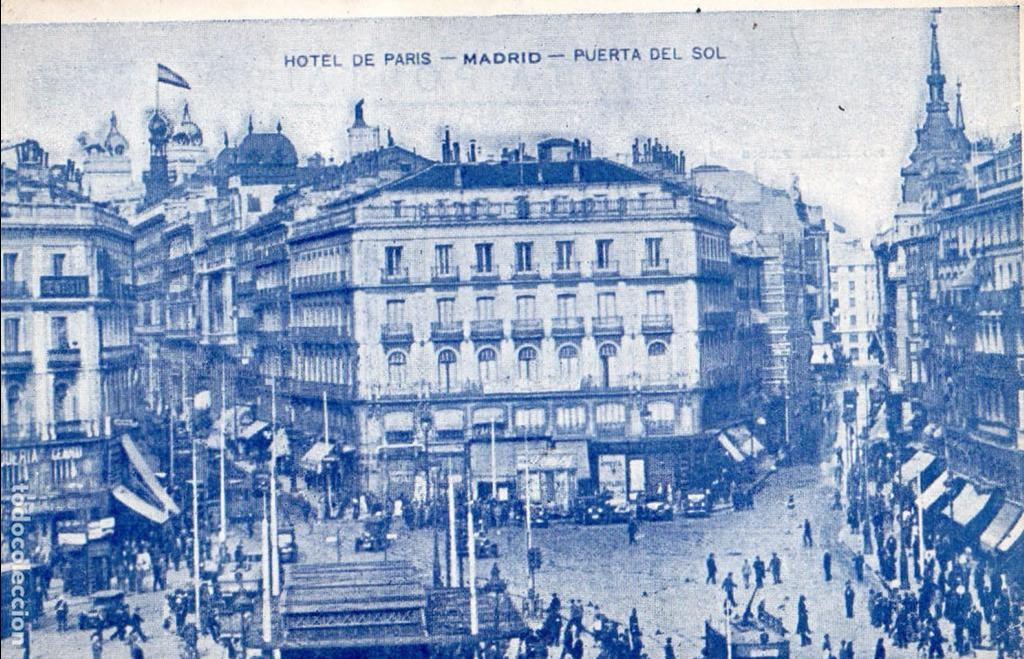 madrid puerta del sol hotel paris circulada 1 comprar