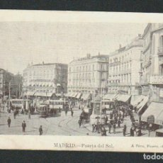 Postales: MADRID.PUERTA DEL SOL.ED.A.PÉREZ.Nº 2.ESCRITA.. Lote 89003704