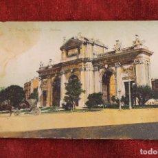 Postales: POSTAL PUERTA DE ALCALA, MADRID, EDICION THOMAS.1ª EDICION, 1900. Lote 89007304