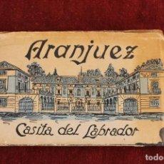 Postales: 12 POSTALES ARANJUEZ, CASITA DEL LABRADOR, HELIOTIPIA ARTISTICA ESPAÑOLA. Lote 89019164