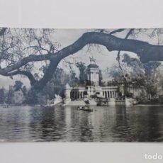 Postales: POSTAL ESTANQUE DEL RETIRO, Nº 17 FOTO CEBOLLERO, MADRID DOMINGUEZ EDITA. Lote 89079340