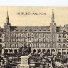 Postales: MADRID.- PLAZA MAYOR, ALB,1.-POST.-128,JMOLINA1946. Lote 89938440