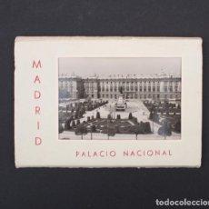 Postales: 10 POSTALES ACORDEON PALACIO NACIONAL Nº 2 MADRID PATRIMONIO NACIONAL GARCIA GARRABELLA POSTAL. Lote 90820580