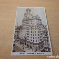 Postales: MADRID. PALACIO DE LA TELEFÓNICA.. Lote 91354875