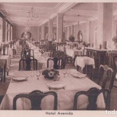 Cartes Postales: POSTAL DE MADRID - HMSA HOTEL AVENIDA DETALLE DEL COMEDOR . HUECOGRABADO RIEUSSET BARCELONA. Lote 91504485