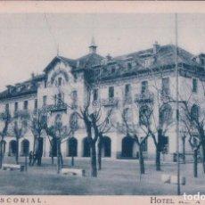 Postales: POSTAL EL ESCORIAL.-HOTEL REINA VICTORIA.-HELIOTIPIA ARTISTICA ESPAÑOLA. Lote 91504680