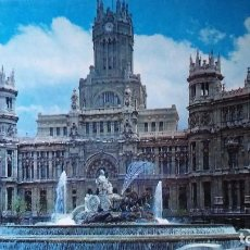 Postales: MADRID - LA CIBELES Y PALACIO DE TELECOMUNICACIONES. Lote 91519920