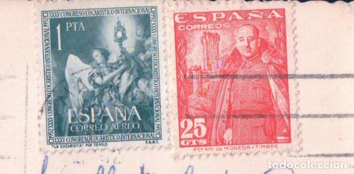 Postales: Postal El Escorial, Monasterio, patio de los evangelistas - CIRCULADA - Foto 3 - 91727945