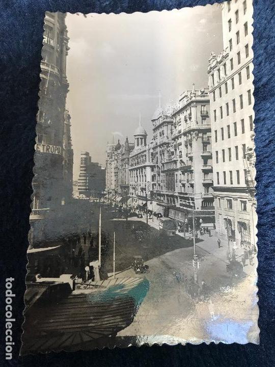 ANTIGUA POSTAL MADRID VISTA PARCIAL AVENIDA JOSÉ ANTONIO NÚM 3 GARRABELLA (Postales - España - Madrid Moderna (desde 1940))