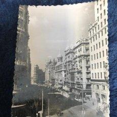 Postales: ANTIGUA POSTAL MADRID VISTA PARCIAL AVENIDA JOSÉ ANTONIO NÚM 3 GARRABELLA . Lote 91793190
