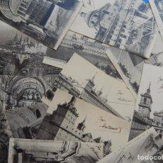 Postales: LOTE 19 POSTALES DE EL ESCORIAL. MADRID. 1910 / 1915 APROXIMADAMENTE.. Lote 92981465