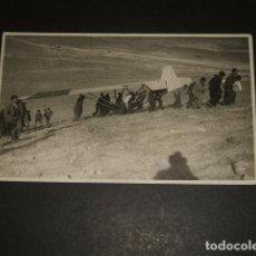 Postales: MADRID POSTAL FOTOGRAFICA PRUEBA AVIACION AVION LIGERO VUELO SIN MOTOR PIO ORTIZ FOTOGRAFO H. 1930. Lote 93604740